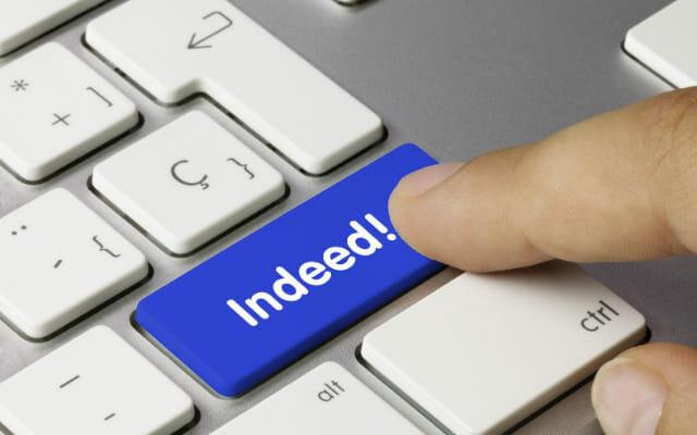 Indeed ボタン