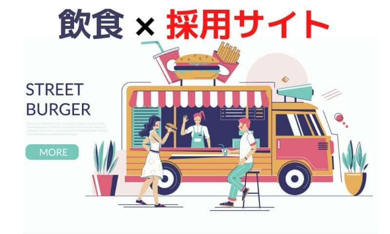 飲食×採用サイト