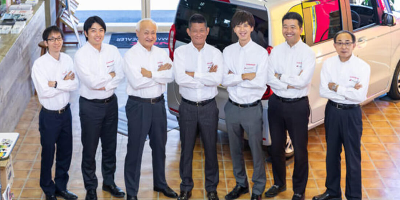 Honda Cars 大阪東 花園店様