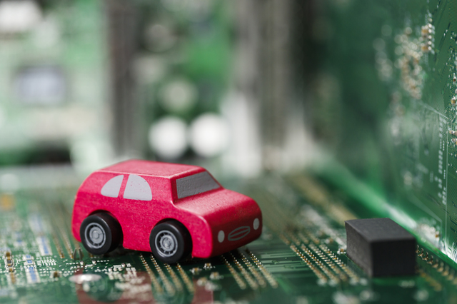 電子版と車